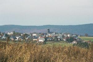 Blick auf Schwarzenbach