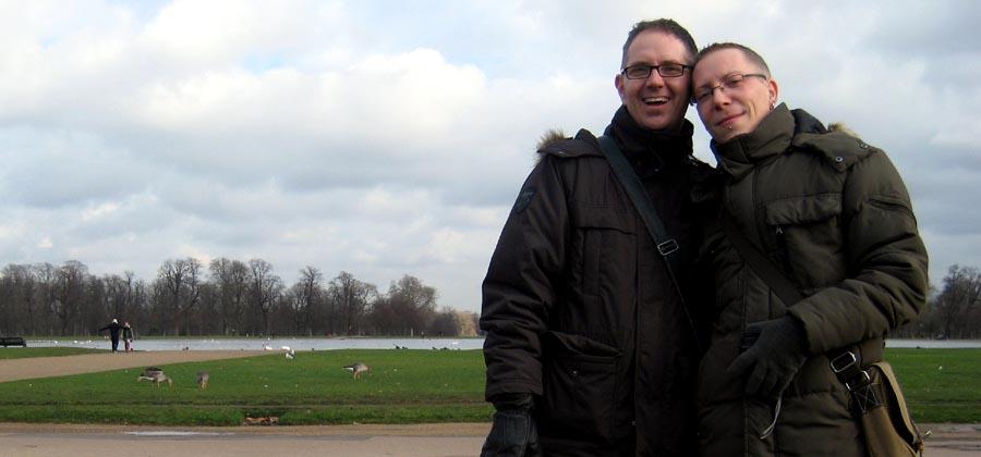 Wir über uns | links Christian, rechts Björn